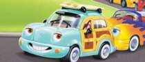 Chevron Cars Fun and Games CD